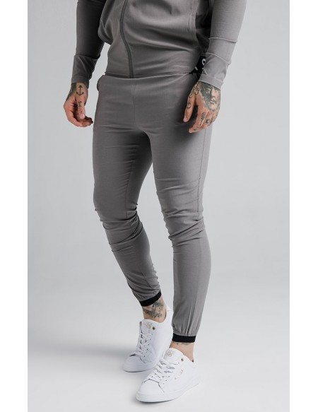 SIKSILK AGILITY POLY RIPSTOP TRACK PANT GREY