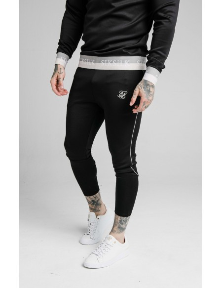 SIKSILK DELUXE AGILITY JOGGER BLACK