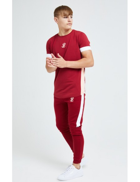 ILLUSIVE LONDON DIVERGENCE SLIDE TEE RED