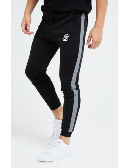 ILLUSIVE LONDON HYBRID JOGGERS BLACK