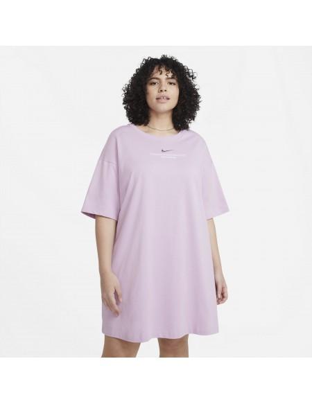 NIKE SPORTSWEAR SWOOSH DRESS ICED LILAC/WHIT