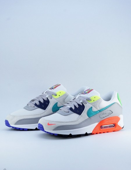 NIKE AIR MAX 90 SE PEARL GREY/SPORT TURQUOISE
