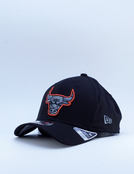 NEW ERA NEON POP OUTLINE 9FIFTY SS CHICAGO BULLS  BLACK