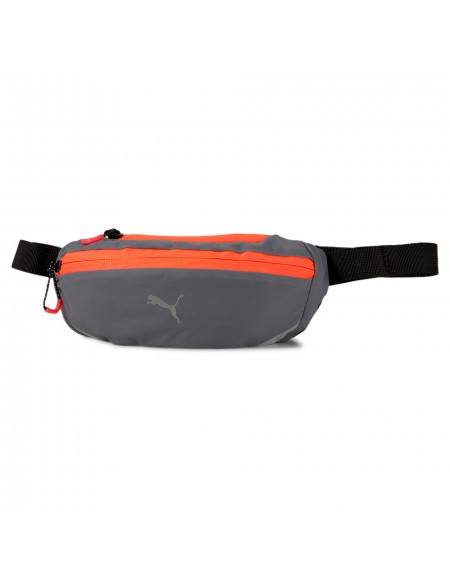 PUMA PR CLASSIC WAIST BAG CASTLEROCK-LAVA BLAST