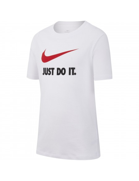 NIKE SPORTSWEAR TEE WHITE/UNIVERSITY RED