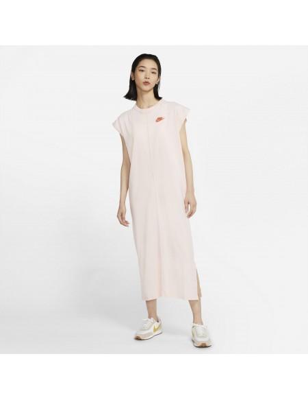 NIKE SPORTSWEAR SWOOSH DRESS BLACK/WHITE