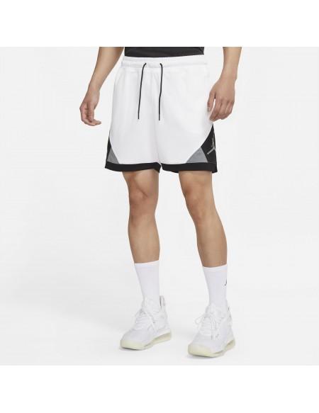JORDAN AIR SHORT PANTS WHITE/BLACK