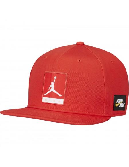 JORDAN PRO JMPMN NIKE CAP CHILE RED