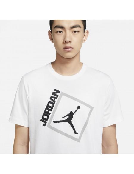 JORDAN JUMPMAN BOX TEE WHITE/BLACK