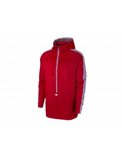 NIKE SPORTSWEAR TAPED ZIP HOOD