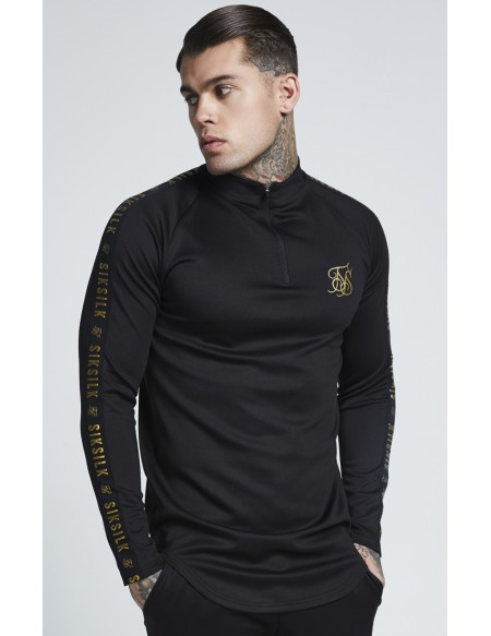 SIKSILK L/S ATHLETE TRAINING TOP