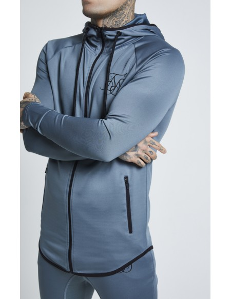 SIKSILK ATHLETE ZIP THROUGH HOODIE