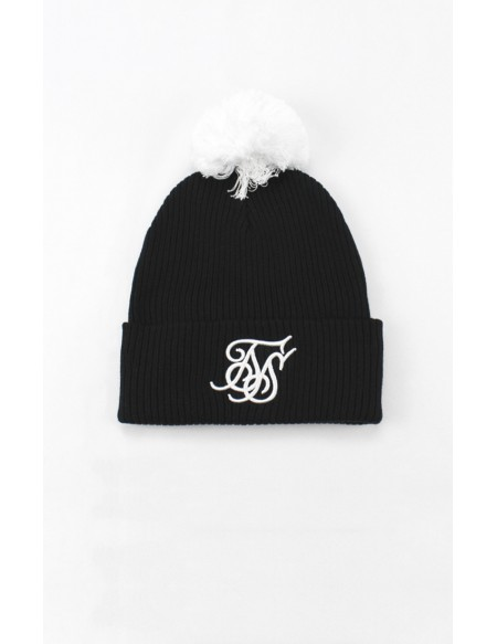 SIKSILK CUFF KNIT BOBBLE HAT