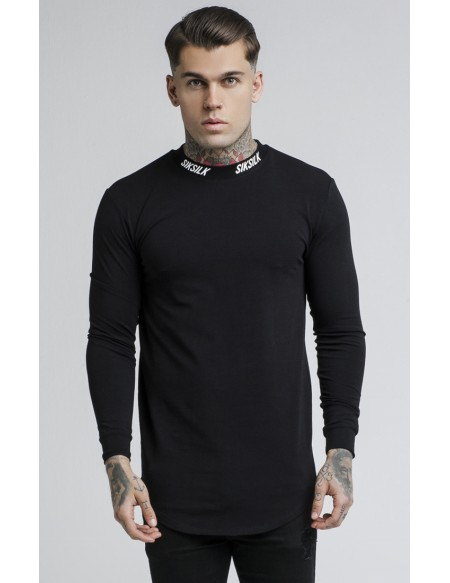 SIKSILK BLACK TURTLE NECK