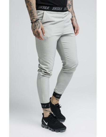 SIKSILK OIL PAINT POLY TRICOT CROPPED PANTS