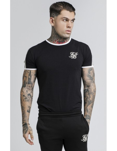 SIKSILK S/S TAPED RUNNER TEE