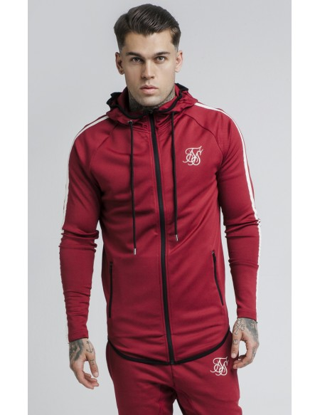 SIKSILK TECH ATHLETE ZIP THROUGH HOODIE