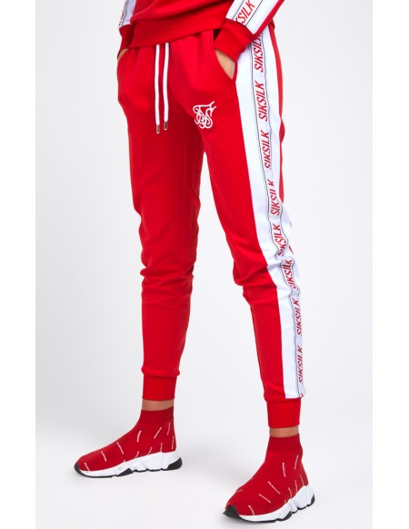 SIKSILK 90´S PANEL POLY JOGGERS