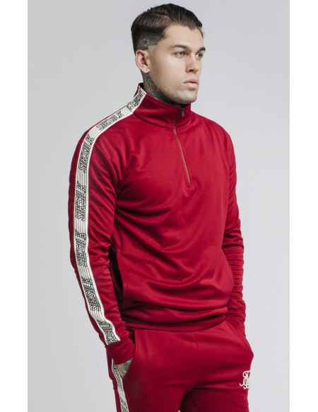 SIKSILK QUARTER ZIP RUNNER TOP